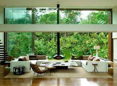 Beautiful Tropical House by Architect Arthur Casas    DesignRulz.com - best living room ever!