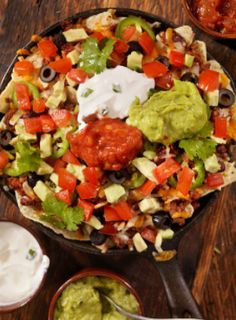 #vegan grilled loaded nachos