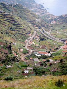 Terraced Field, Funchal, Portugal #carhireportugal