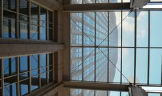 out of the glass ceiling The Loop, Chicago Nikon D5100, ISO 100, 18mm, f/5.6, 1/125 sec s b dragoo image-and-light.tumblr.com