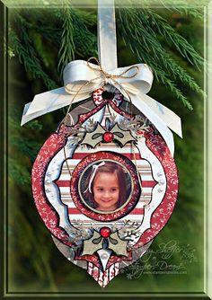 Pickled Paper Designs: Photo Ornament