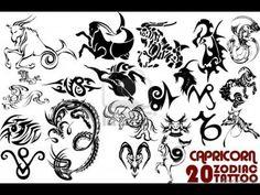 Capricorn Tattoos With Images Capricorn Tattoo Zodiac Tattoo 50 Best Capricorn Tattoo Design. Capricorn Sign Tattoo, Capricorn Symbol, Zodiac Capricorn, Taurus, Download Tattoo, Twin Tattoos, Word Tattoos, Heaven Tattoos, Truck Tattoo