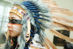 Native American costume made by Riri, Sarah, Johanna, Angel, Amanda, Ramadhanty, Kresta, model : Amanda Sutiono