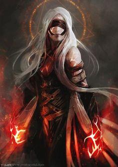 Pharasma, déesse du destin, de la mort, des prophéties et de la naissance. connaissance/eau/guérison/mort/repos Dague N