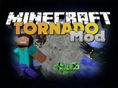 Minecraft Mod - Tornado Mod - New Items and Weather (Destroy Kings Landing)