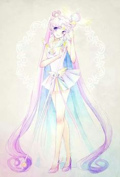 Sailor Cosmos from sailor moon