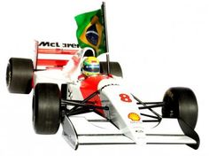 Toy car Ayrton Senna Mais