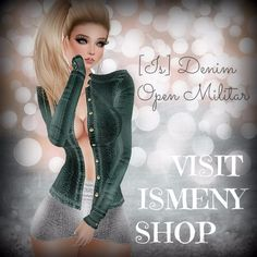 VISIT ISMENY SHOP        [Is] Denim Open Militar http://es.imvu.com/shop/product.php?products_id=34642007