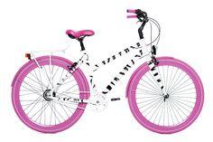 LOCA bikes Pink zebra #loca