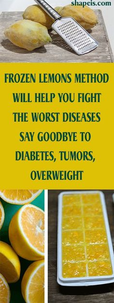 FROZEN LEMONS METHOD WILL HELP YOU FIGHT THE WORST DISEASES – SAY GOODBYE TO DIABETES, TUMORS, OVERWEIGHT #fitness #beauty #hair #workout #health #diy #skin #Pore #skincare #skintags #skintagremover #facemask #DIY #workout #womenproblems #haircare #teethcare #homerecipe