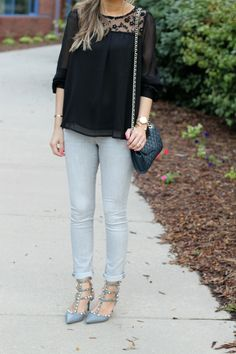 Lilly Style: black + gray
