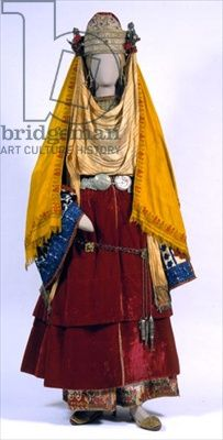 Bridal costume from Astypalaia