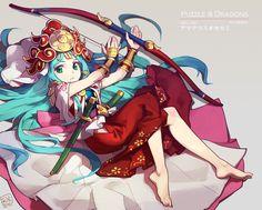 puzzle and dragons - Amaterasu by nnnnoooo007