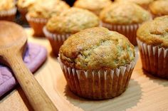 Need a quick but wholesome snack to share with the whole family? Try our Banana Muffin recipe! #linkinbio #CarringtonFarms