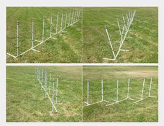 4 in 1 Dog Agility Equipment Weave Poles Straight Weave O Matic Channel or 2x2 | eBay