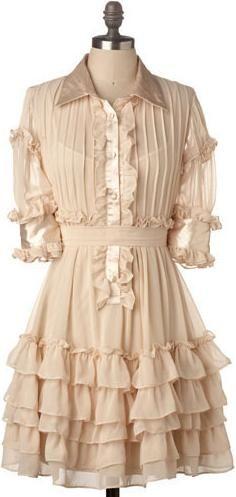 Vestido vintage retrô  Lady Chatterley Dress