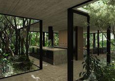 modern house, luciano kruk,modern architecture