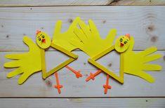 My Home Style: 6 tipů na velikonoční tvoření pro děti Triangle, Clock, Easter, Diy, Decor, Watch, Decoration, Bricolage, Easter Activities