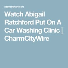 screencaps from the 39 abigail ratchford car wash 39 video abigail ratchford pinterest car wash. Black Bedroom Furniture Sets. Home Design Ideas