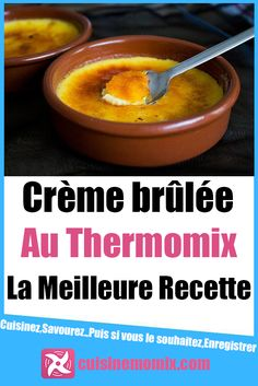 Creme Brulee Thermomix, Creme Dessert, Thermomix Desserts, Food Tasting, Mini Desserts, Coco, Mousse, Food To Make, Biscuits