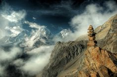 Between Heaven and Earth © Damian Turski (This reminds me of los Andes! Beautiful Landscape Photography, Stunning Photography, Beautiful Landscapes, Nature Photography, Paradise Pictures, Paradise On Earth, Mountain Landscape, Heaven On Earth, Bergen