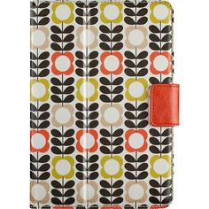 Belkin - Orla Kiely Cover for Apple® iPad® mini - Summer Flower Orange - Larger Front @ Best Buy On sale @ $25 (from $50) Gasp! Who doesn't love Orla K. Not very share with the hubby friendly.