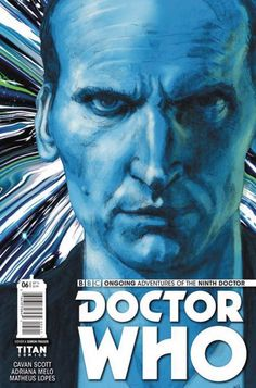 The Hardcover of the Doctor Who: The Ninth Doctor Volume 3 - Official Secrets by Cavan Scott, Adriana Melo, Chris Bolson Doctor Who 9, Doctor Who Comics, Ninth Doctor, Captain Jack Harkness, Christopher Eccleston, The Nines, New Adventures, Book Authors, Bbc News