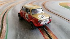 Mini Cooper S slot race car - scratch build