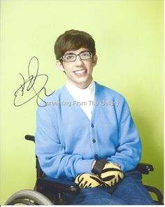 Kevin McHale Hand Signed 8x10 Autographed Glee