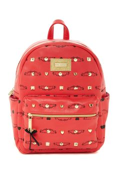 SBtudded Signature Mini Backpack by Betsey Johnson on @nordstrom_rack - It's a fake MCM fun!
