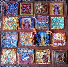 Santa Fe Retreat Project by janelafazio, mixed media art