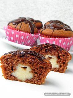 Čokoladni muffini s punjenjem od griza! Jako jednostavno i jako fino!