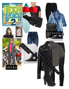 Designer Clothes, Shoes & Bags for Women Casual School Outfits, Summer Fashion Outfits, Outfits For Teens, Cool Outfits, Disney Themed Outfits, Disney Inspired Fashion, Character Inspired Outfits, Tv Show Outfits, Fandom Outfits