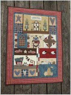 Lancaster Quilt de Simply Patchwork Hors-série N°22 de Quilt Country