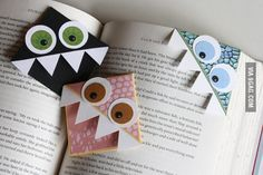 Cool Page Corner Bookmarks...