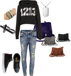 """""""Highschool"""" by edith-yung on Polyvore"""