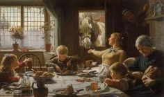 Love this image - 'One of the Family', Frederick Cotman - Walker Art Gallery, Liverpool museums