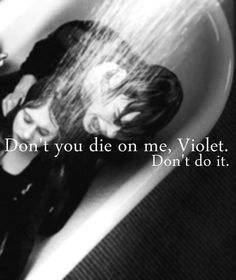 I cried so much during this scene because, although Tate is psychotic killer and rapist (in one part of his personality) he also loves and really cares for Violet...I just love this character a lot