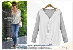 Fashion Lady Women's Batwing Top Cotton Long Sleeve Sweater. Discover and shop the latest things you love on www.zkkoo.com
