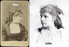 Would May and Lulu have gotten along the way Amy and Bess did? In both cases, mother & daughter were alike ...