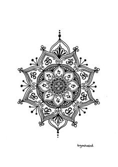 Lizzie Snow 'fortyonehundred' specializes in contemporary explorations of the mandala. Mandala Original Artworks, Limited Edition Mandala Prints, Mandala Murals and Collectable Items. Mandala Tattoo Design, Mandala Art, Tattoo Designs, Henna Designs, Sun Mandala, Make Tattoo, Tattoo You, New Tattoos, Henna Tattoos