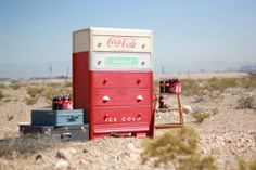 Vintage Coke Machine Dresser by ShabbyBride on Etsy, $500.00!!!!!!!!!!!!!!!