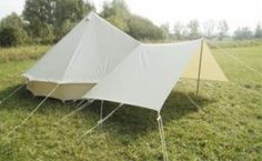 Universal Bell Tent Porch from Die Jurte & Pukka 4x4 metre universal Tarp/Awning for bell tents | fun ...