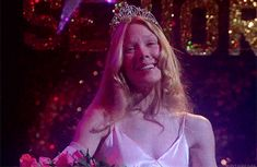 """What Stephen King character are you? / CARRIE They're going to laugh at you""""! You're misunderstood, some you feel alone but know that to us you'll always be prom queen. 70s Films, Horror Films, 1995 Movies, Horror Books, Comedy Movies, Carrie White, King Costume, Non Plus Ultra, The Rocky Horror Picture Show"""