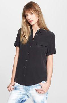 Equipment 'Slim Signature' Silk Shirt   Nordstrom