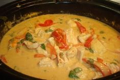 Thai Chicken & Pineapple curry - looks very easy to make & authentic, but may require trip to the Asian market