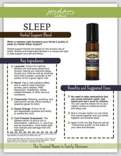#Sleeplessnights? Try this #Sleep Essential Oil Blend to curb those restless nights.