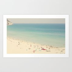 Buy beach by Ingrid Beddoes as a high quality Art Print. Worldwide shipping available at Society6.com. Just one of millions of products available.