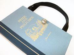 Book Purse Jane Austen Pride and Prejudice Book by retrograndma