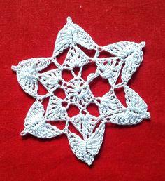 Free Crochet Patterns: Another Snowflake crochet pattern